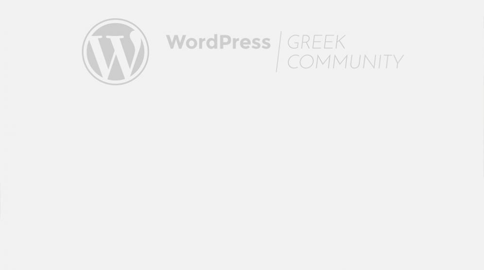 8th WordPress Thessaloniki Meetup